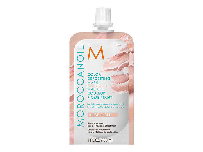 Moroccanoil Color Depositing Mask Rose Gold 30ML